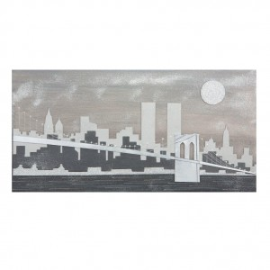 quadro new york a rilievo
