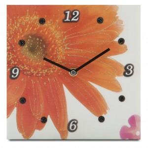 orologio gerbera arancio